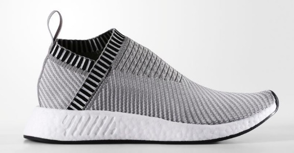 Tenis adidas Nmd Cs2 City Sock Boost Solid Grey - R  650 32397e55de123