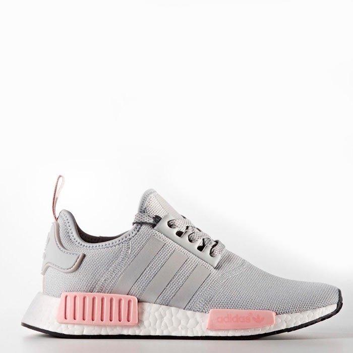 adidas rosa com cinza