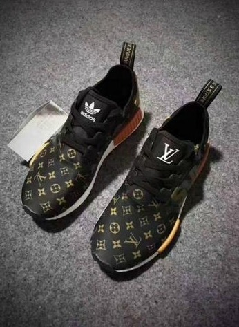 outlet store 82253 b6f0d Tenis adidas Nmd Louis-vuitton Supreme 100%original Marrom