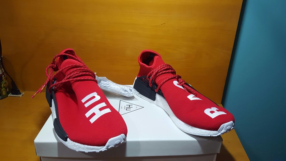 889d1e2bdf63b tenis adidas nmd x pharrell williams human race scarlet. Carregando zoom.