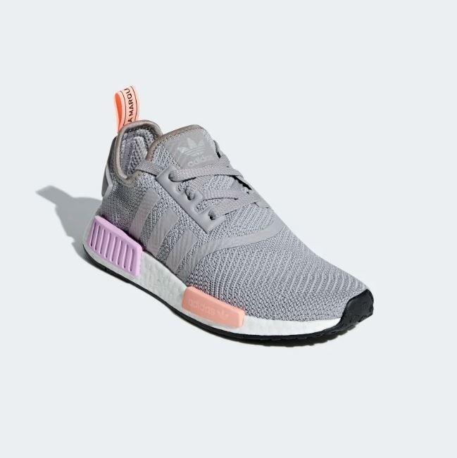 adidas nmd gris y rosa