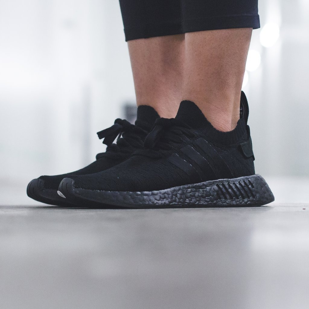 new concept 06b37 98627 Tenis adidas Nmdr2 Primeknit Negro Unisex By9525 Ad1073 ...