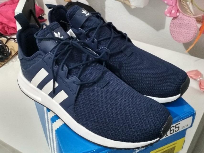 15b53658830 tenis adidas original azul marinho x plr novo masculino. Carregando zoom.