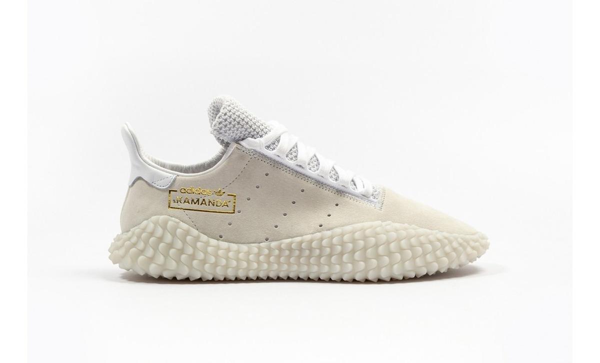 Tenis adidas Originals Edición Kamanda Beige 2019