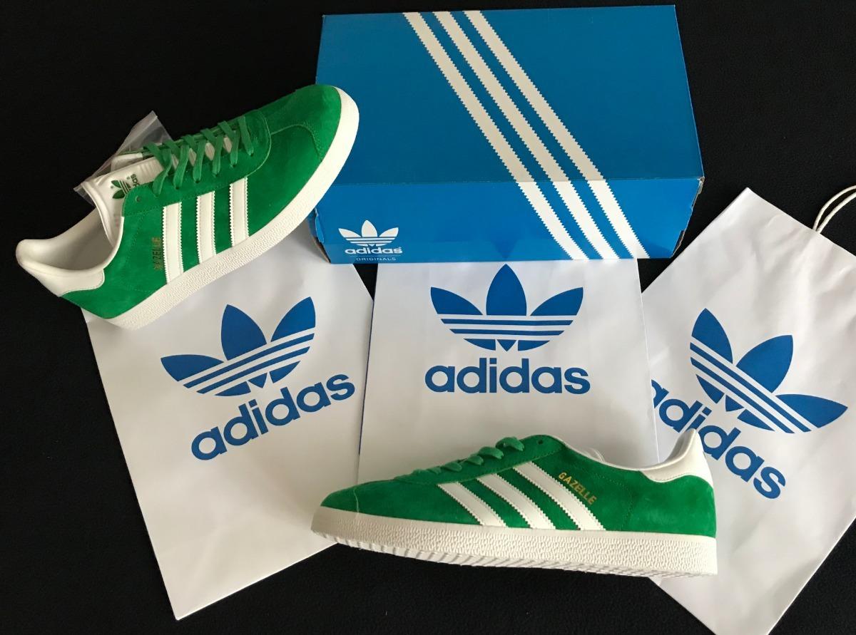 b210889581a1a tenis adidas originals gazelle originales verdes méxico nuev. Cargando zoom.