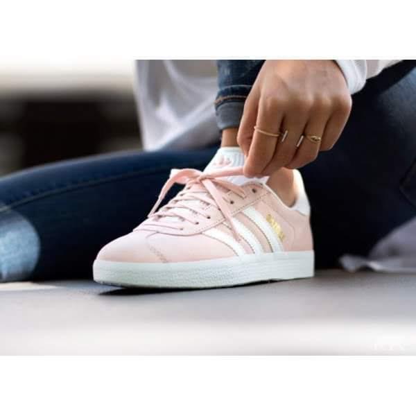outlet store 078d1 eaf53 tenis adidas originals gazelle pink. talla 4.5 mx by9544