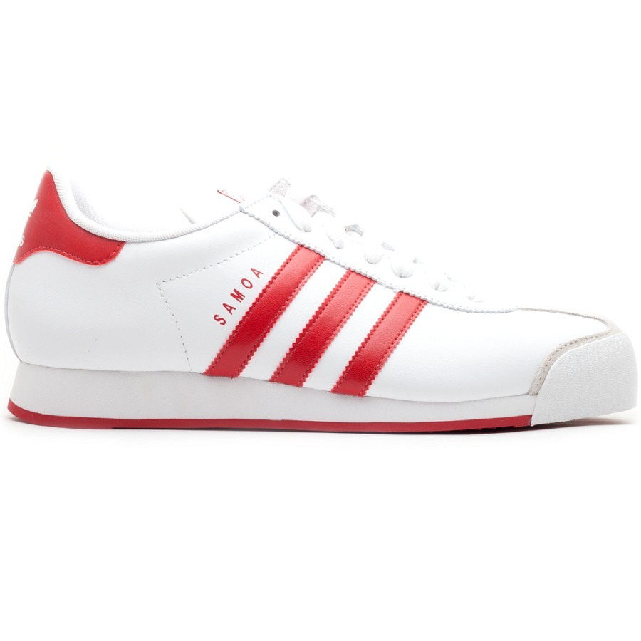 outlet store 37a27 a27d6 tenis adidas originals samoa blanco con rojo retro leather. Cargando zoom.