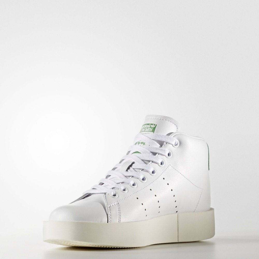 brand new 86a8d fe010 Tenis adidas Originals Stan Smith Bold Mid Nuevos Originales