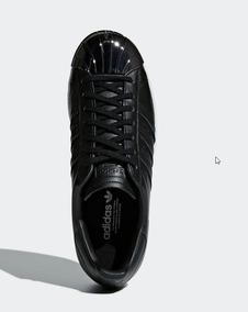 buy online c98e4 863e1 Tenis adidas Originals Superstar 80s Preto Feminino