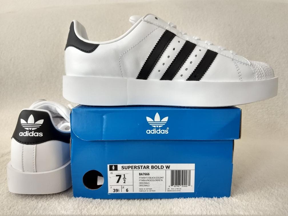 Nuevos Originales Originals Superstar Tenis Bold Adidas drCxBoWe