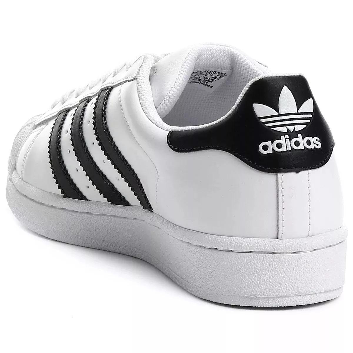 tenis adidas originals superstar branco entrega rápida. Carregando zoom. 7895c5cb79bee
