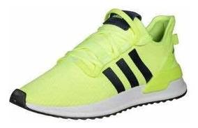 zapatillas adidas verde fosforito