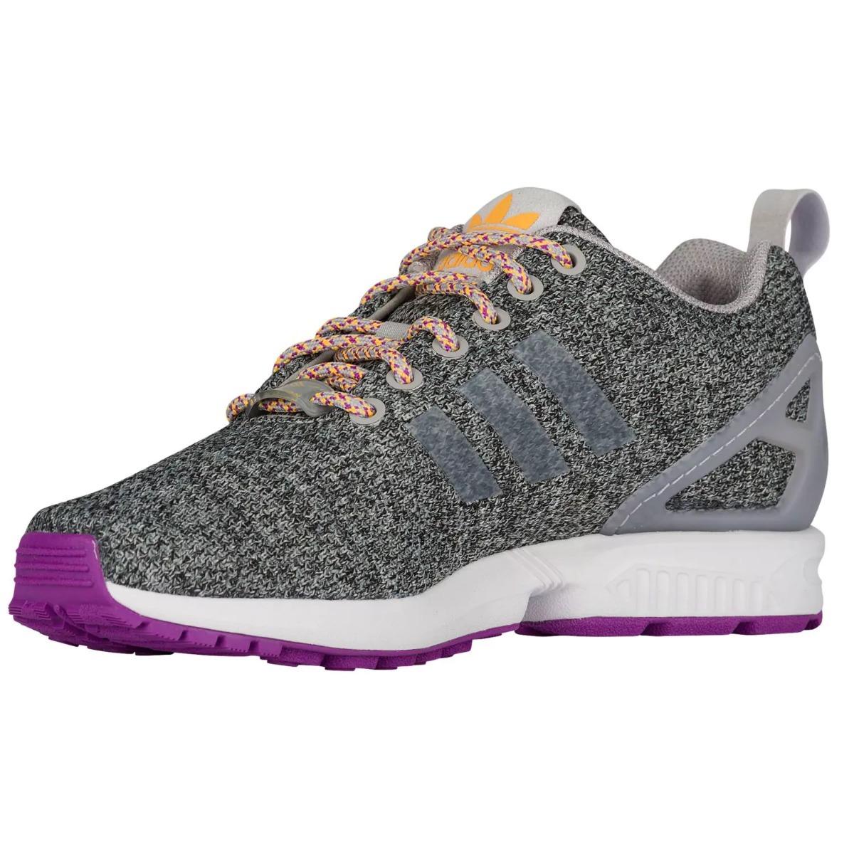 chaussures de sport a8838 fd0ec Tenis adidas Originals Zx Flux Gris