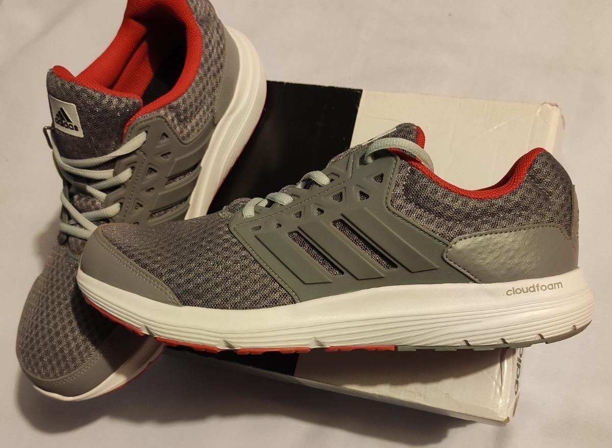 descuento amplia selección zapatos para correr Tenis adidas Para Correr Color Gris Con Blanco Para Hombre