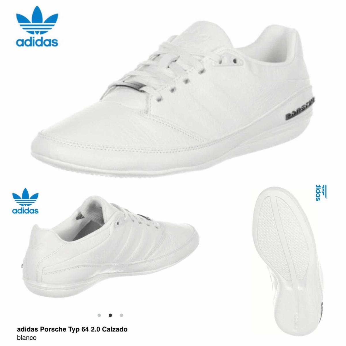 online retailer e5af3 ab1c2 ... new arrivals tenis adidas porsche typ 64 2.0 blanco piel cargando zoom.  4f63b 4cd2a