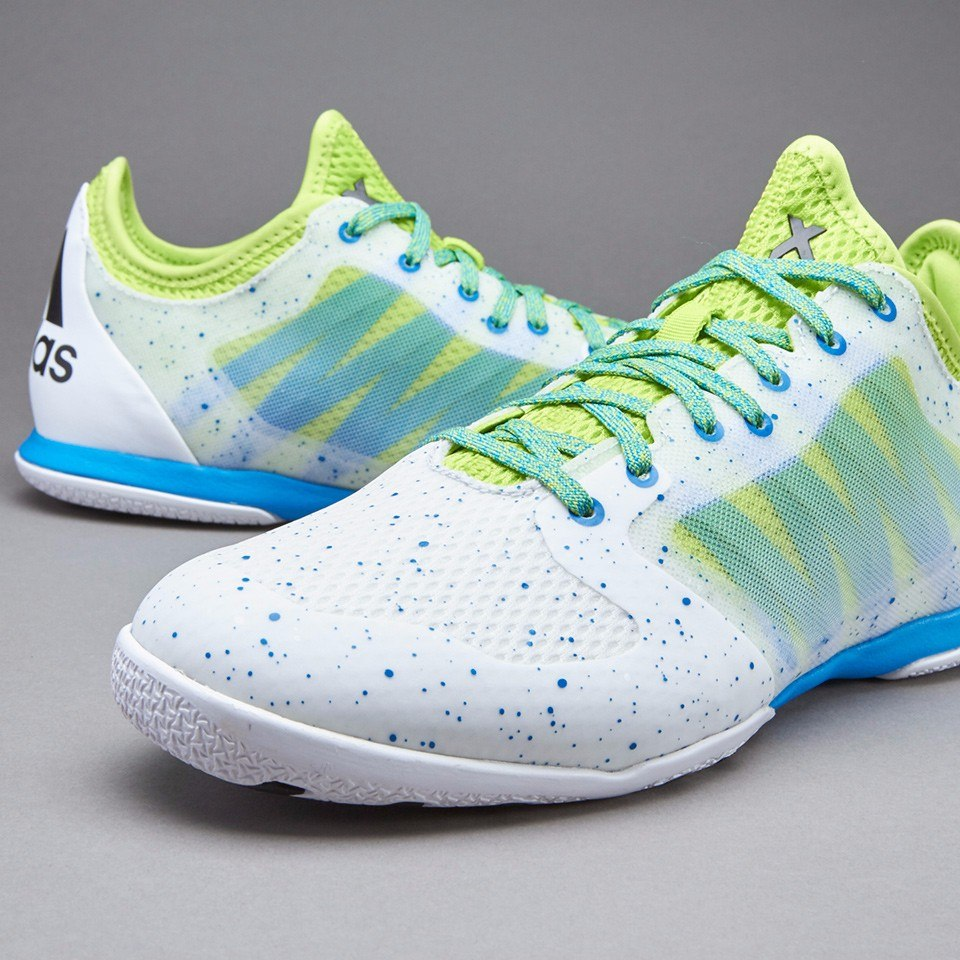 online retailer eaafd 747c0 tenis adidas profesionales x 15.1 liga ic blanco amarillo. Cargando zoom.