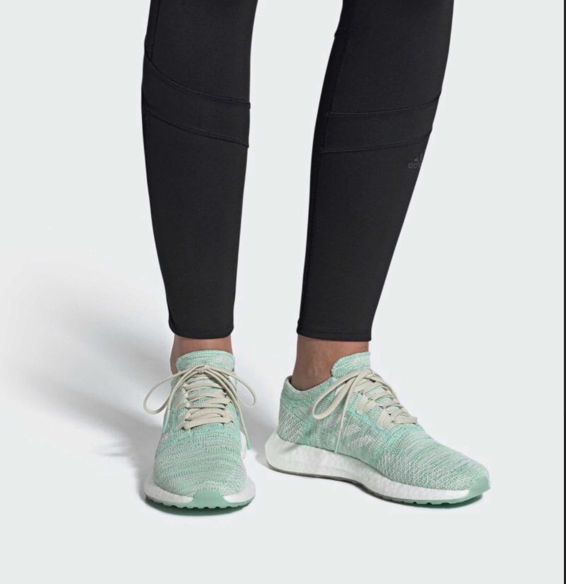 Tenis adidas Pureboost Go Mujer Running 25mx Azul/aqua