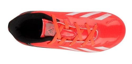 tenis adidas q33917 17-21 simipiel naranja