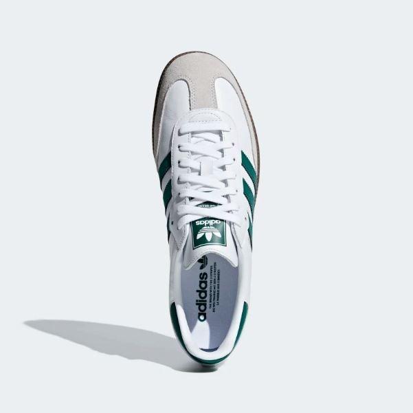 Tenis adidas Samba Og Blanco Azul Hombre Nuevos Originales