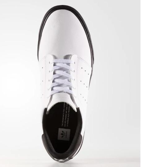 Tenis adidas Seeley Court Branco Couro 100% Original - R  249 2bc1de44e7211