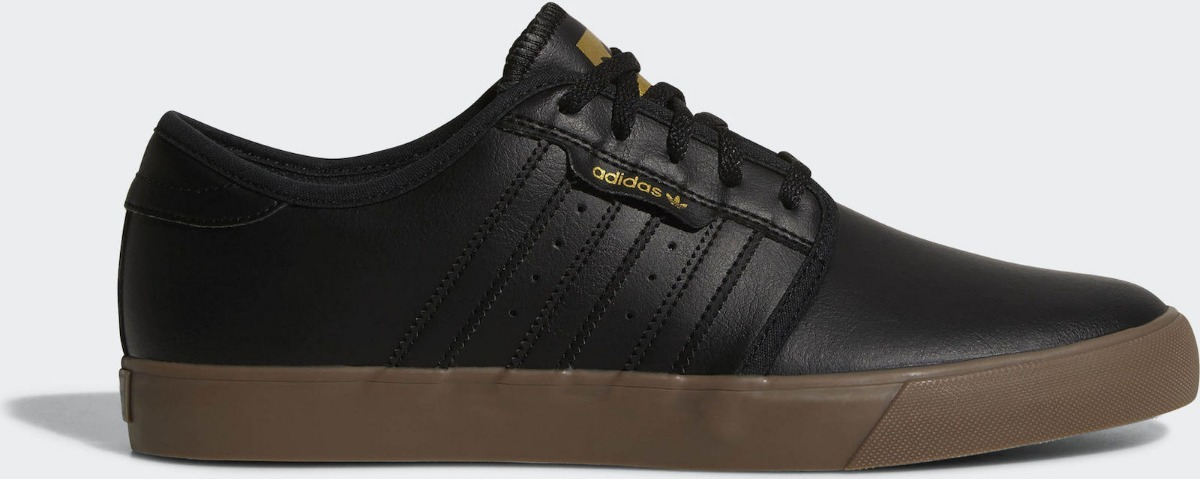 tenis adidas skate seeley couro preto 100% original. Carregando zoom. d12aff4f5e446