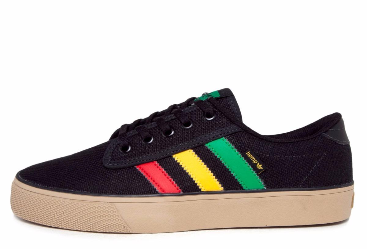 30368aabd1d22 tenis adidas skateboarding reggae hemp. Carregando zoom.