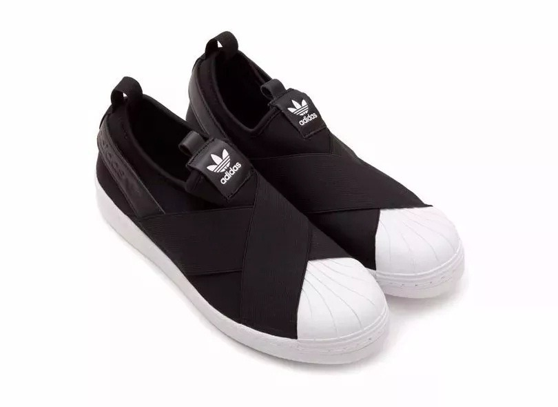 Tenis Adidas Slip On Superstar Unisex Original Importado R 204 30