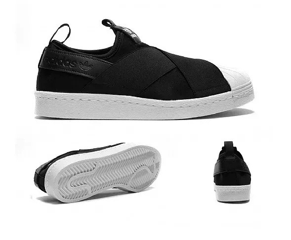 Tenis adidas Slip On Superstars Moda 2019 Super Promoção - R  204 e0be73c06f4e2