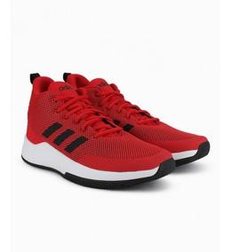 Tenis Rojos Para Hombre Tenis Basquet De Hombre Adidas Textil En