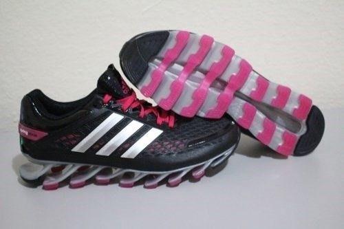 adidas springblade rosa com preto