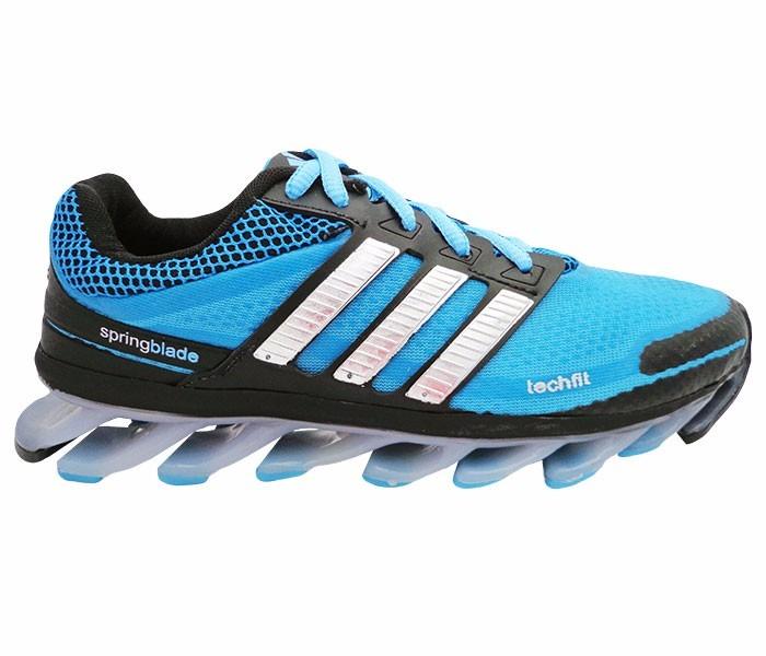 Tenis adidas Springblade Azul E Preto Nº 38 A 42 Fret Gratis - R ... 3f39c66f460b6