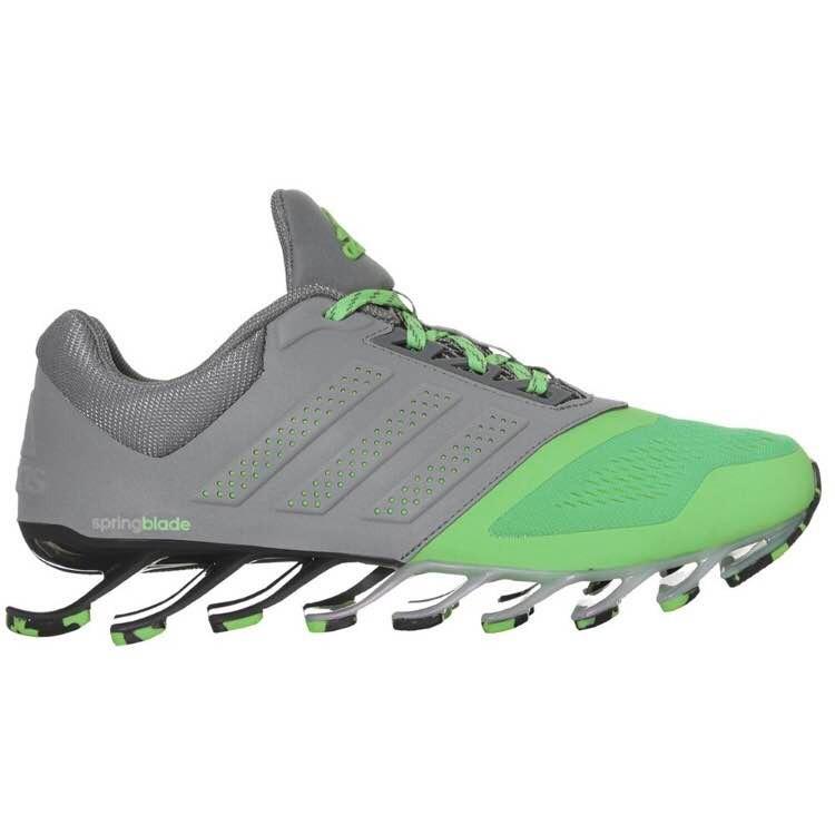 ... germany tenis adidas springblade drive 2 m. gris c verde. talla 8.5. 275e891b79d7f