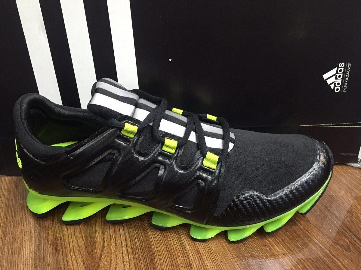 tenis adidas springblade f.f 2016 verde preto original veja carregando zoom.