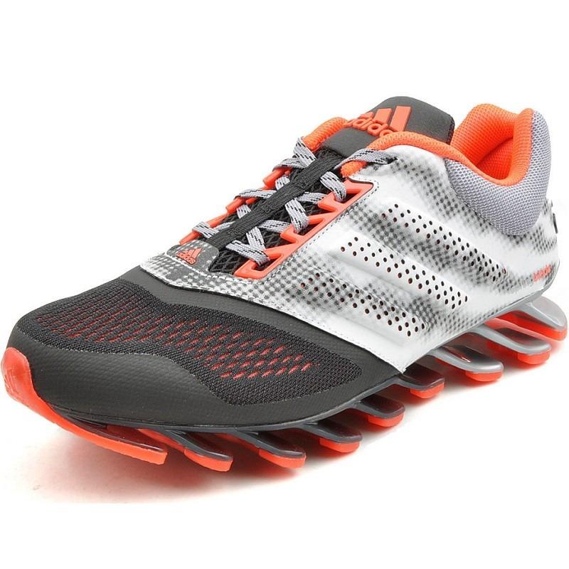 4aa9897d24 ... cheapest tenis adidas springblade originales drive 2 silver black gym  c94c1 ec052 ...
