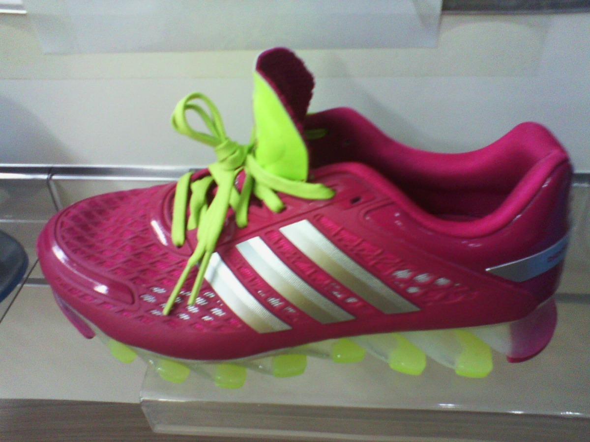 mercadolivre adidas springblade rosa e verde