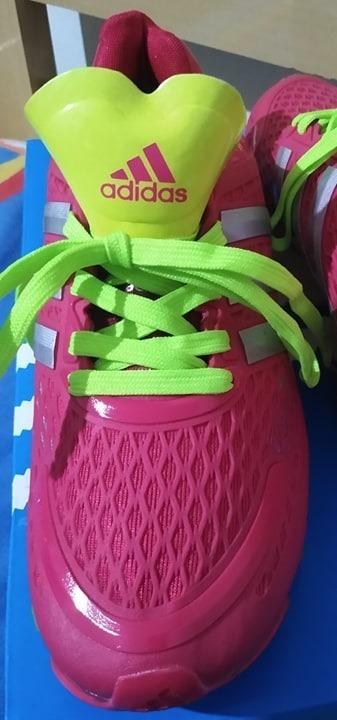adidas springblade rosa e azul