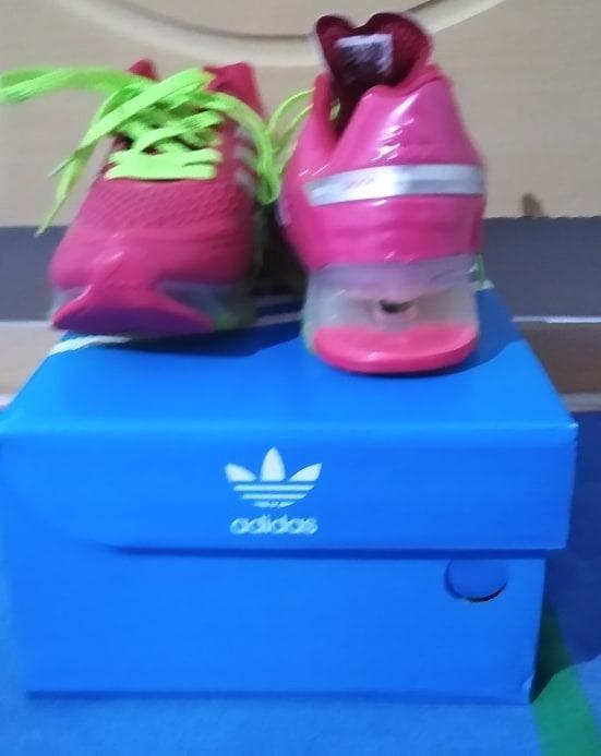 adidas springblade rosa e verde original