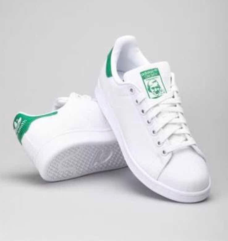 c1694f8b1660e Tenis adidas Stan Smith 100% Originales De Piel  4.5 Mex ...