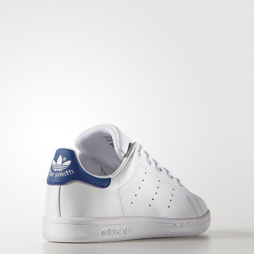 tenis adidas stan smith blanco c  azul  18 envio gratis msi. Cargando zoom. 24993038be2f4