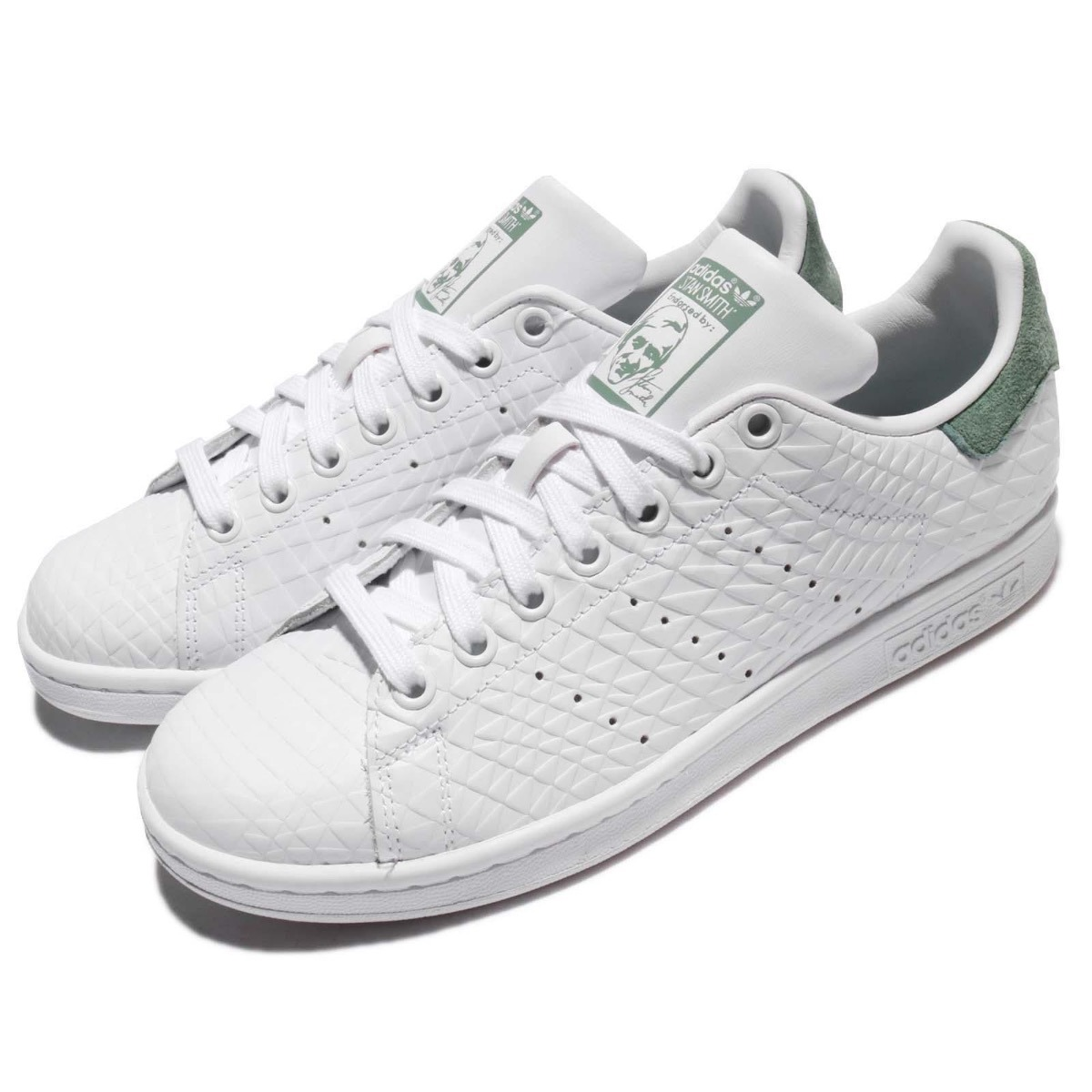 249dd214891 ... usa tenis adidas stan smith blanco mujer bz0409 look trendy. cargando  zoom. 82c22 595d3