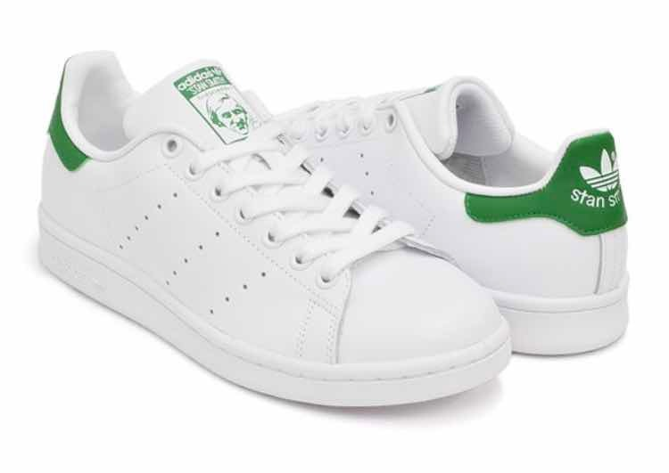Tenis adidas Stan Smith Blanco- Verde - En Piel Todos Los ... 7687e7f120224