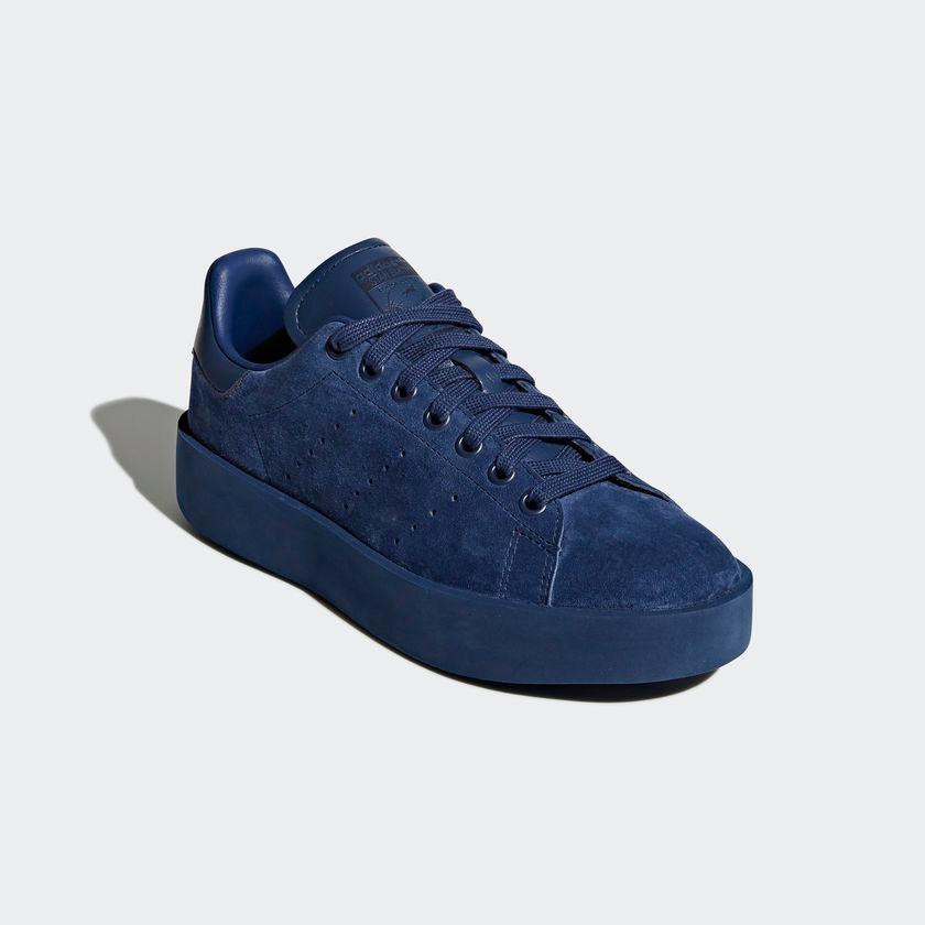 tenis adidas stan smith bold azul -envío gratis- originales. Cargando zoom. 1e36af27a8d59
