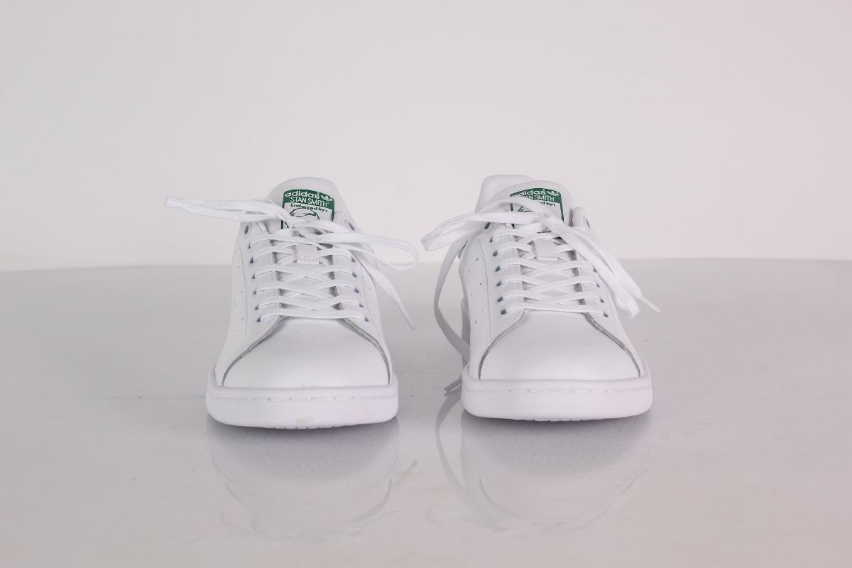 49b82f1273 ténis adidas stan smith branco e verde original com nota. Carregando zoom.