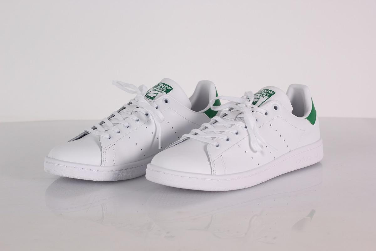 d4ad32e33a36 ténis adidas stan smith branco e verde original com nota. Carregando zoom.