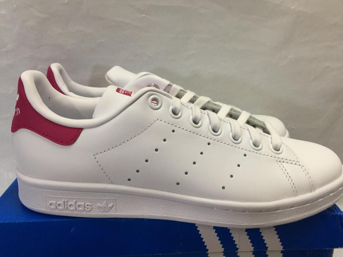 buy online 4d391 613df Tenis adidas Stan Smith De Piel 100%originales D Niña B32703