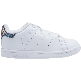 Tenis adidas Stan Smith Metallic Snake S76335 Blanco Mujer