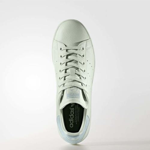 tenis adidas stan smith mujer franja gris cp9703
