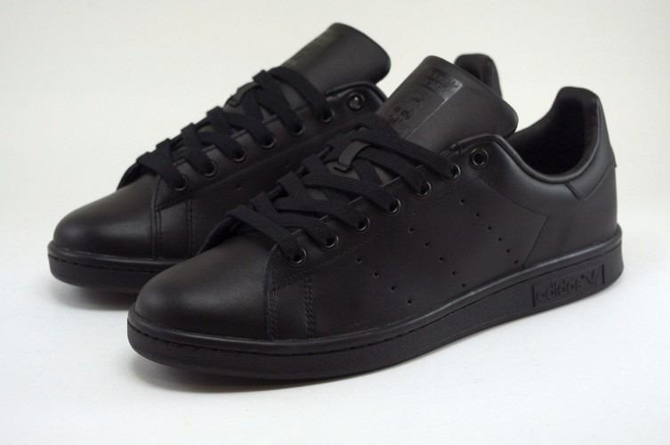 patrones de moda gran selección colección completa Tenis adidas Stan Smith Negro Originales 100% Piel M20327