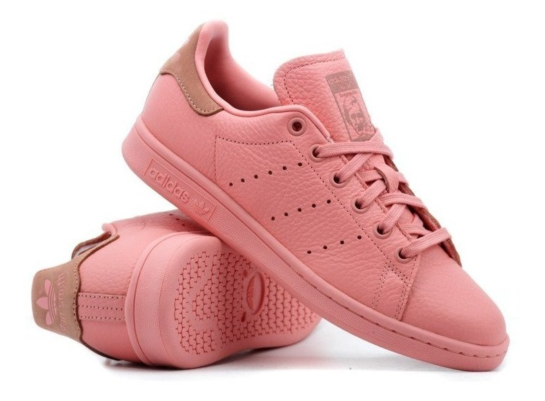 super specials buy good quality Tenis adidas Stan Smith Rosa Piel Hombre Promo Originales
