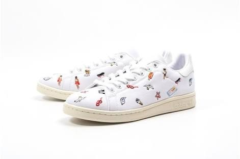 38eb9bc31de Tenis adidas Stan Smith Summer 100% Originales D Mujer -   1